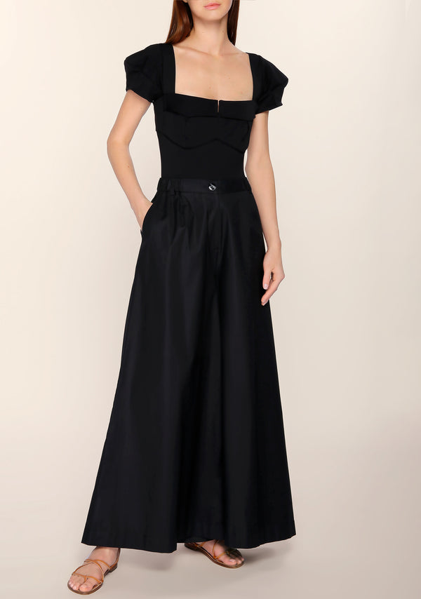 Catheryn Palazzo Pants in Black