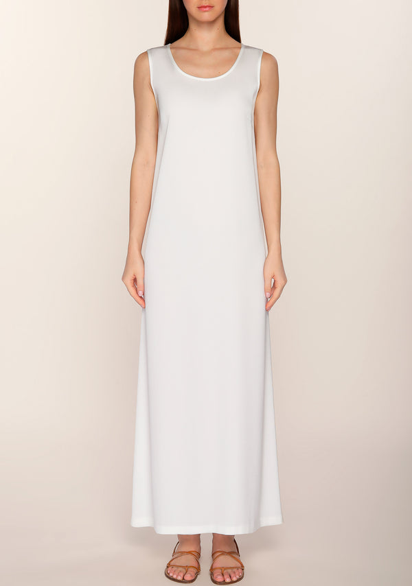 Salama Crepe Slip Dress
