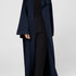 Image 11 of Minimal Loose Belted Coat