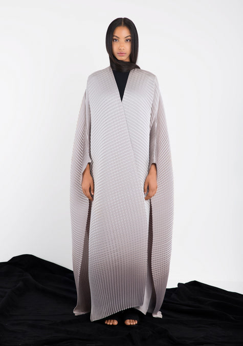 Abaya - Pleated Abaya - 10495082964