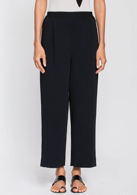 Pants - Loose Crepe Pants - 2003970981957