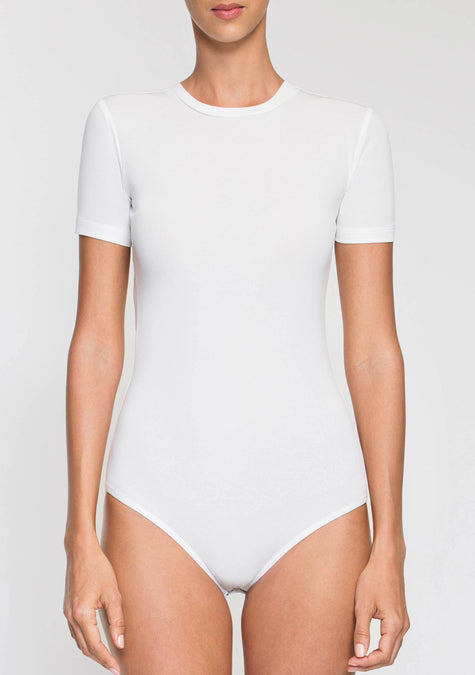 Top - Plain Bodysuit - 2003934412869