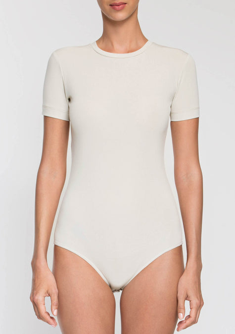 Top - Plain Bodysuit - 2003937361989