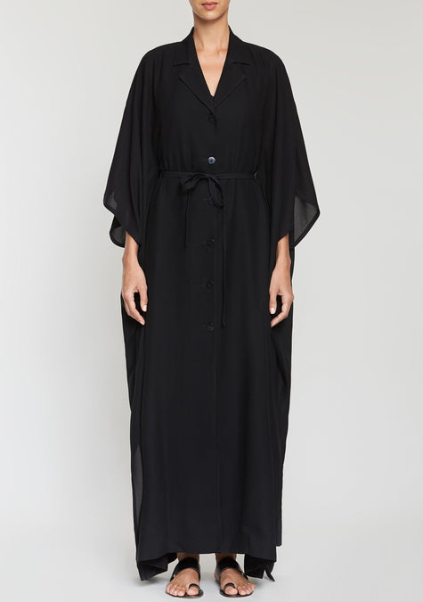 Dress - Light Poncho Dress - 2041281904709