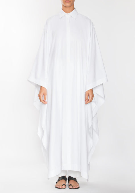 Dress - Poncho Long Shirt - 1944630853701
