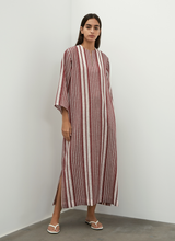 Striped Linen Kaftan