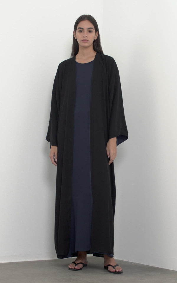 Reversible Light Coat Abaya