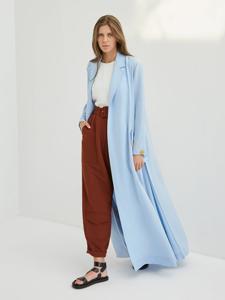 Light Long Jacket Dress