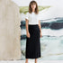 Image 4 of Crepe Midi Skirt
