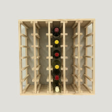 Load image into Gallery viewer, 30 Bottle Lattice Wine Cubes