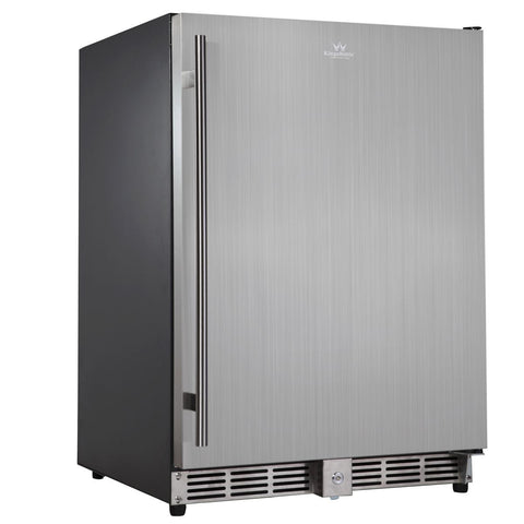 solid door beverage refrigerator - 152 Litre