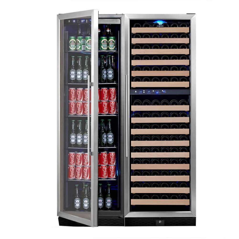 Upright Wine & Beverage Refrigerator Combo