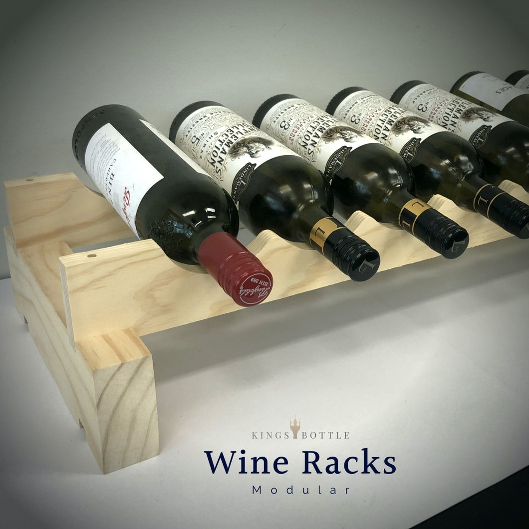 Individual Layers Modular Wine Racks