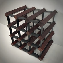 Load image into Gallery viewer, WRT012M 12 Bottle Mahogany Finish Timber Wine Rack_1