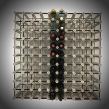 Load image into Gallery viewer, 110 Bottle Timber Wine Rack | 10x10 Configuration