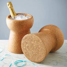 Load image into Gallery viewer, Champagne Cork Ice Bucket KBX002CIB