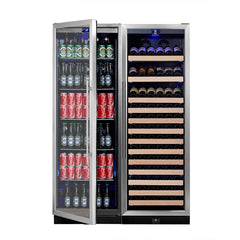 WINE & BEVERAGE REFRIGERATOR UPRIGHT COMBO | KB405COMBO