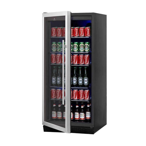 upright drink fridge with glass door kingsbottle beverage cooler beer fridge refrigerators kb308bgs