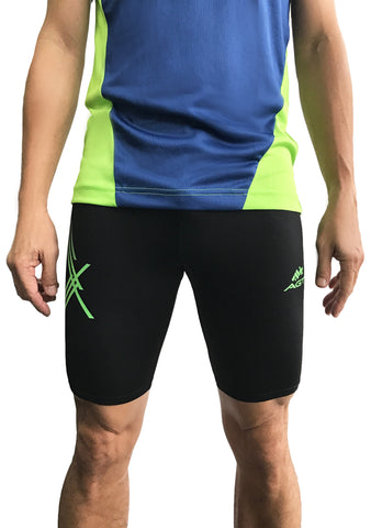 Above Knee Tight UNISEX (TKC171 NEON LIME/STRIPES)