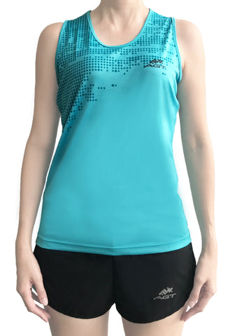 Ladies Performance Singlet (PMW172 TURQUOISE)