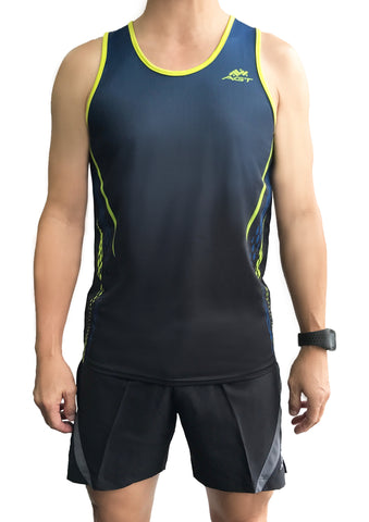 Performance Singlet (PS172 NAVY GRADIENT)