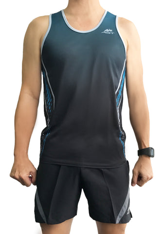 Performance Singlet (PS172 TEAL GRADIENT)
