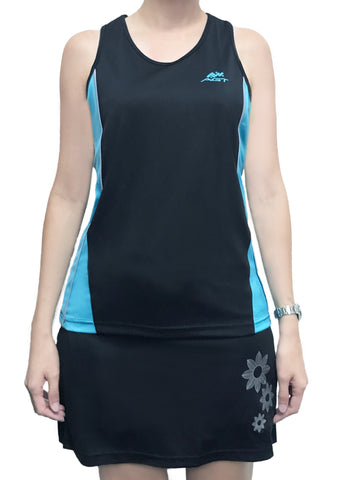 Ladies Racerback (RB172 BLACK)