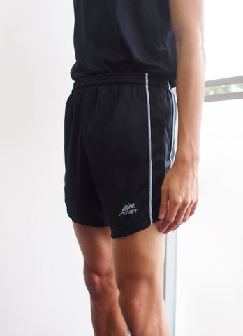 Knitted Baggy Shorts UNISEX (KBS162 BLACK/GREY)
