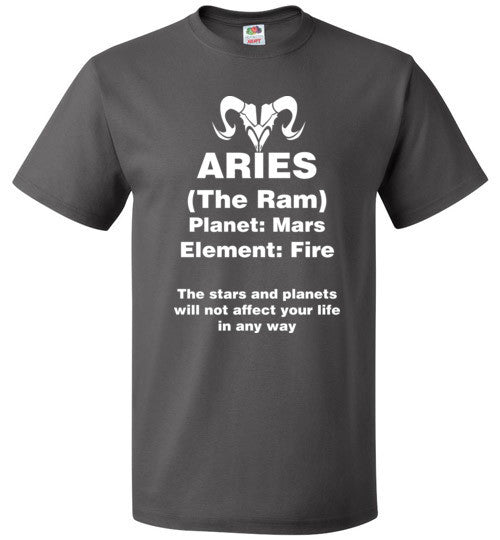 Aries Zodiac Sign Unisex T-Shirt