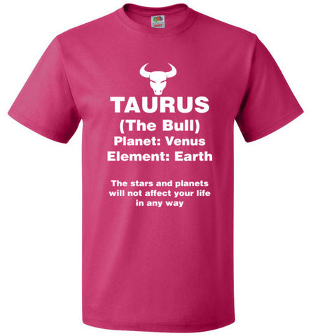 Taurus Zodiac sign Unisex T-Shirt