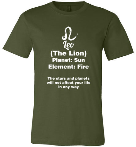Leo Zodiac Sign Unisex T-Shirt