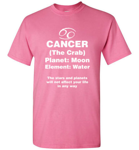 Cancer Zodiac Sign Unisex T-shirt