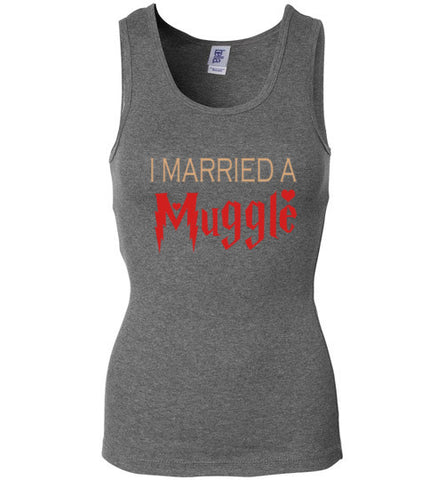 I Married a Muggle Bella Strap Tank