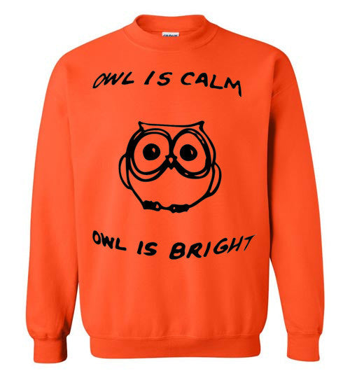 Owl is Calm Christmas Sweater