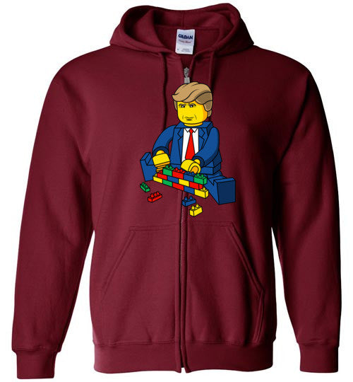 Let's build a wall Unisex Hoodie