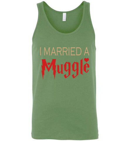 I Married a Muggle Tank-Top