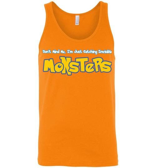 Catching Monsters Unisex Tank-Top