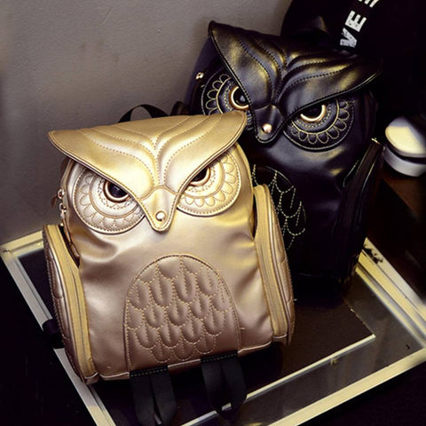 NEW | BTR® LEATHER OWL BACKPACK