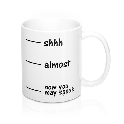 NEW | BTR® Now you may speak Mug