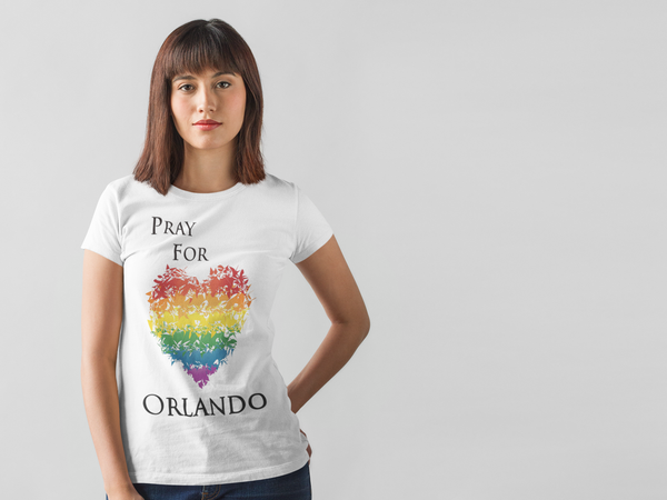 Pray For Orlando T-Shirt (Unisex)