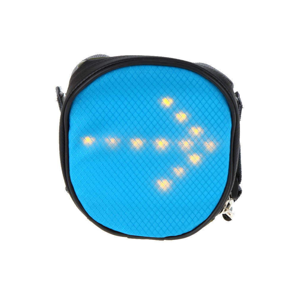LED-Powered Indicator Bicycle Pouch [Free Shipping]
