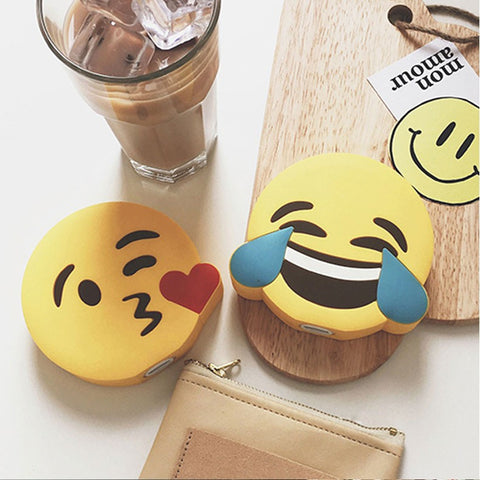Tears of Laughter/Heart Kiss Emoji Power Bank