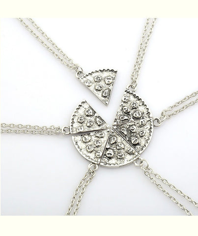 Pizza Best Friends Necklace