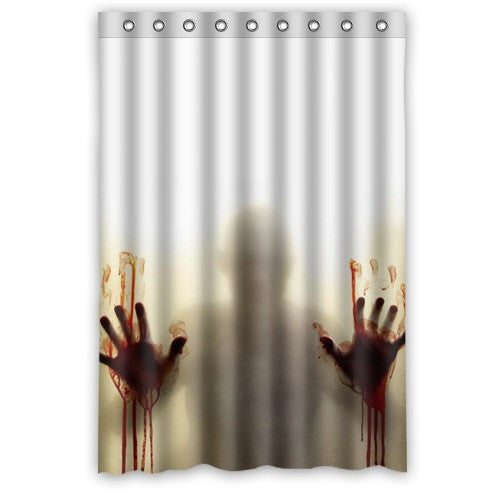 BTR® Zombie Shower Curtain
