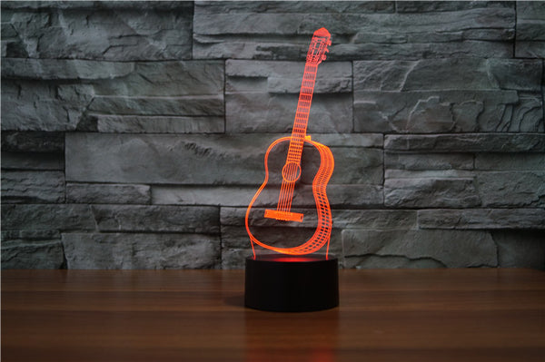 BTR® 3D LED GUITAR LAMP
