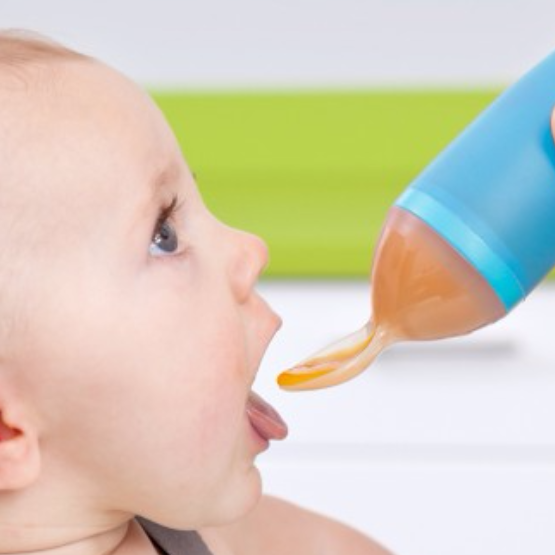 BTR® BABY FOOD DISPENSING SPOON