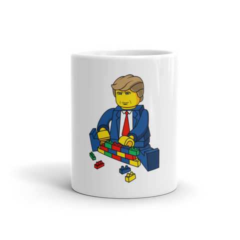 Wall of LEGOS Mug