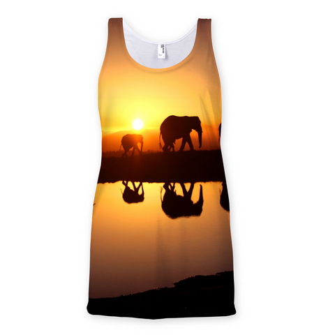 Elephant Horizon Sunrise Vest