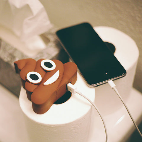 Poop Emoji Power Bank Charger