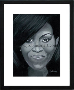First Lady Michelle Obama (12x16)